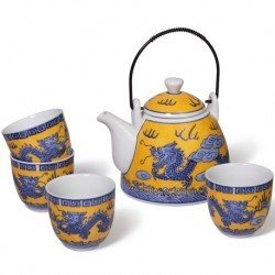 Tetera de Porcelana Set Long
