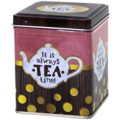 Caja para té Cool & Icy - Verde Metálico
