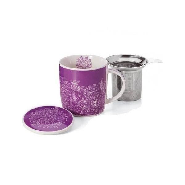 Caja de lujo para tres tés