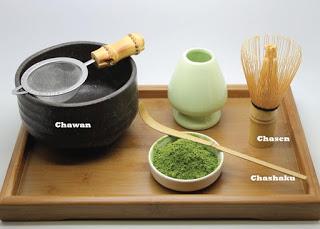Set de preparación del té Matcha